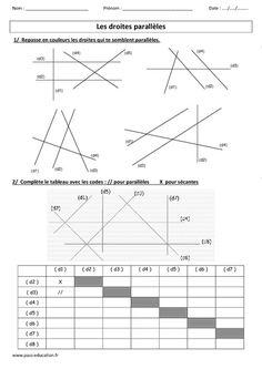 """Résultat de recherche d'images pour """"géométrie cycle 3"""" Fractions, Images, Chart, Logo, Architecture, Daughters, Children, Job Resume Template, Math"""