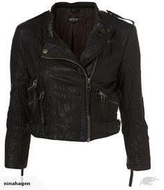 Topshop Faux leather jacket : BidBud