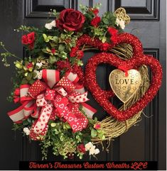10 Gorgeous Valentines Day Decorations - Life Is Fun Silo Diy Valentines Day Wreath, Valentines Day Decorations, Valentine Day Gifts, Valentine Ideas, Valentine Party, Diy Wreath, Door Wreaths, Dinner Themes, 1st Boy Birthday