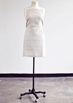 heirloomed full apron {bistro} 55
