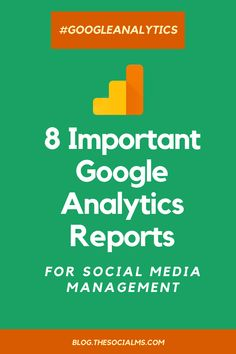 Google Analytics helps marketers to really understand who their target audience is, where their target audience finds the website, how they use the website and how helpful the website is. Use Google Analytics in combination with social media metrics. Here are 8 Google Analytics reports that show you critical information to enhance social media marketing. #googleanalytics #marketingmetrics #socialmediamanagement #socialmediamonitoring #socialmediametrics #analyticsreports… Google Analytics Course, Google Analytics Report, Google Analytics Dashboard, Social Media Analytics, Social Media Tips, Social Media Marketing, Content Marketing, Online Marketing, Marketing Channel