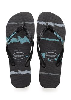 67991bbc9 Havaianas Top Tropical Glitch Sandal Black Blue Price From  20