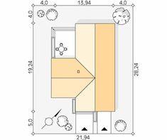 Cytrus 2 projekt domu - Jesteśmy AUTOREM - DOMY w Stylu Sliders, House Plans, Floor Plans, House Design, How To Plan, House Floor Plans, Architecture Design, Home Design, Floor Plan Drawing