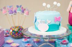 Bolo para festa do fundo do mar!  (Under the sea cake)