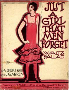 Just a Girl that Men Forget, 1923 (ill.: Fabien Loris); ref. 1323