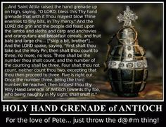 The Holy Hand Grenade of Antioch Monty Python and the Search for the Holy Grail