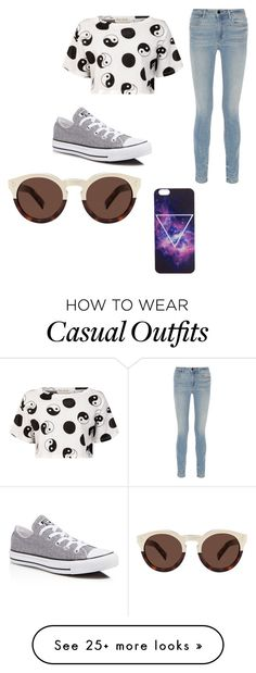 """""""CASUAL"""" by beachflowers on Polyvore featuring Être Cécile, Alexander Wang, Converse and Illesteva"""