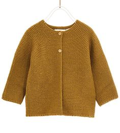 BASIC KNIT CARDIGAN-SWEATERS AND CARDIGANS-BABY GIRL | 3 months - 4 years-KIDS | ZARA United States