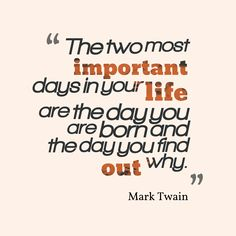 Get high resolution using text from Mark Twain quote about life ...