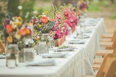 decoração de casamento com flores do campo - Pesquisa Google
