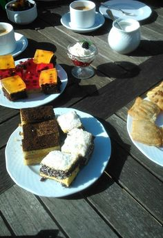 Breakfast, coffe, sweets and sun <3 lovely place HOLIDAY!