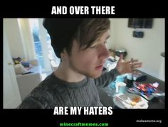 I dare you to watch DanTDM and not love him. I'm pretty sure you'll find it's quite impossible. The Diamond Minecart, Preston Playz, Minecraft Memes, Youtube Minecraft, Husband Meme, Wedding Jewellery Inspiration, Cute Youtubers, Funny Quotes, Funny Memes