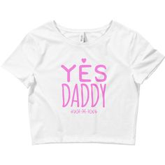 Yes Daddy DDLG Clothing Daddy Dom Little BDSM Cuffs Adult Pacifier... (450 MXN) ❤ liked on Polyvore featuring ddlg