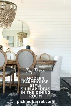 What to do with shiplap? That's not a question you will have after see these fun and creative decor ideas using shiplap! #pickledbarrelblog #farmhousedecor #shiplapdecor Modern Farmhouse Porch, Modern Farmhouse Design, Farmhouse Kitchen Decor, Farm House Colors, Diy Rustic Decor, Diy Apartment Decor, Creative Decor, Decor Ideas, Joanna Gaines