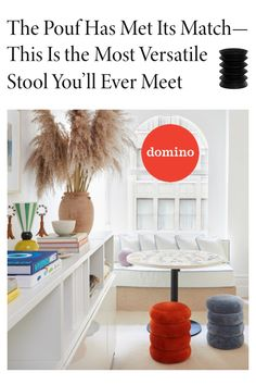 "We were so thrilled ErgoErgo was featured in iconic interior design magazine Domino! Our active seating was one of their picks for ""10 sculptural stools that belong in your living room."" Click to see why Domino said ""The Pouf Has Met Its Match — This Is the Most Versatile Stool You'll Ever Meet""!"