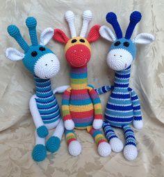 Crocheted giraffe                                                       …