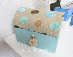 モコモコで可愛いドーム型の箱|ふんわりかわいいカルトナージュ