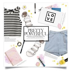 """""""You'd like her"""" by brynhawbaker on Polyvore featuring In Your Dreams, Rifle Paper Co, Casetify, Lord & Berry, MAC Cosmetics, Big Bud Press, Georgia Perry, KAROLINA, H&M and Deborah Lippmann"""