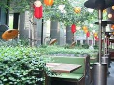 perch in pershing square. cool rooftop bar (not this photo)