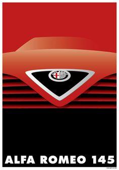 Original Poster Graphic / Alfa Romeo145