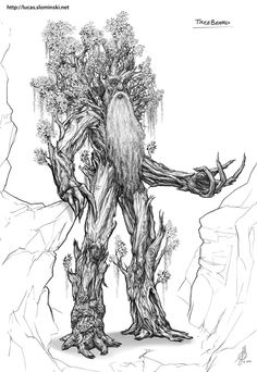 Treebeard by LotROLaurelin.deviantart.com on @deviantART