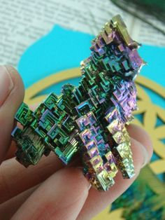 ~GALACTIC RAINBOW BISMUTH FORMATION From Germany~  AVAILABLE For SALE HERE: