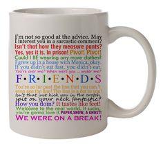 friends tv show tv series quotes Tea Cup Morning Mug Coffee Mug Home Office  #MugDesign