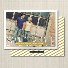 photo save the date special day. by westwillow on Etsy Save The Date Magnets, Save The Date Postcards, Inexpensive Wedding Invitations, Modern Save The Dates, Special Day, Getting Married, Photo Editing, Dating, Black And White