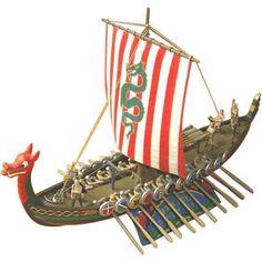 Atlantis Toy and Hobby Viking Ship 1/60 Limited Edition Model Kit #AtlantisToyandHobby