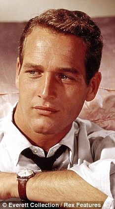 Actor, and heartthrob, Paul Newman (star such movies as Butch Cassidy, The Hustler, Cool Hand Luke), was born Jan. 26, 1925. he died Sept. 26, 2008. Those blue eyes caused many a woman's knees to buckle!