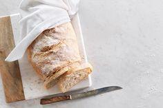 Rustic No-Knead White Bread
