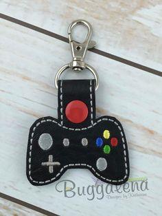 Game Controller Snap Tab/Key Fob