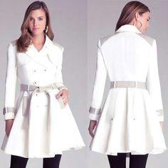 Love this coat #Bebe