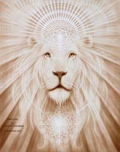 Art: Spirit Lion, by A. Andrew Gonzalez                         Make this a lioness