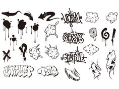 Resultado de imagen para flechas GRAFFITI