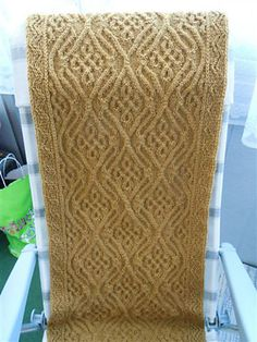 Wow, this is an amazing celtic cable pattern from Ravelry