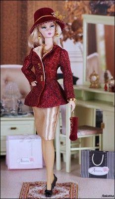 Anicetta OOAK fashion for Silkstone Barbie, Fashion Royalty | eBay