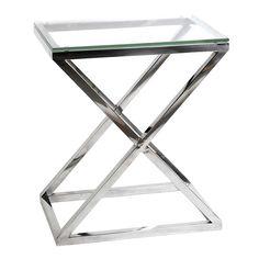 EICHHOLTZ Table Side Criss Cross High