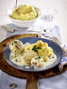 Unser beliebtes Rezept für Vegetarische Königsberger Klopse und mehr als 55.000 weitere kostenlose Rezepte auf LECKER.de.