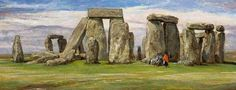 Barclay, Edgar (b,1842)- Stonehenge