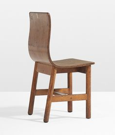 Charles Eames and Eero Saarinen; Chair for Crow Island School via the Works Progress Administration, 1939.