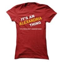 Its An Alexandria Thing