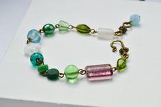 Bracelet bohème en perles  Bracelet boho  Bohémien par JewelryByPlk