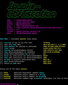 KitPloit - PenTest & Hacking Tools for your CyberSecurity Kit ☣: Invoke-Obfuscation - PowerShell Obfuscator Computer Hacker, Computer Setup, Computer Technology, Computer Programming, Computer Science, Security Tools, Computer Security, Kali Linux Hacks, Best Hacking Tools