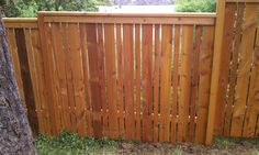 Cap and bevel fence! Premium grade with cedar posts and an ...