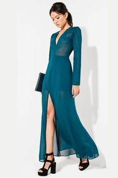 The Petite Girl's Guide To Nailing Floor-Length Hems   Reformation Vigne Dress, $278, at Reformation.