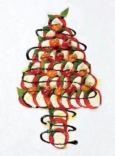 Christmas cheese n tomato
