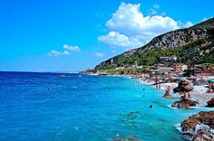 Tirana, ALBANIA (Ksamil islets) so excited for a chance to swim in that amazing water!