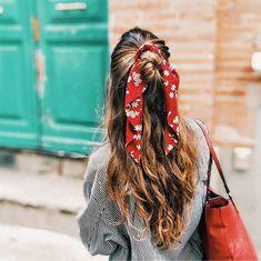 hair goals Haargummis sind zurckgekehrt - besser als Eva. Clip Hairstyles, Headband Hairstyles, Summer Hairstyles, Trendy Hairstyles, Braided Hairstyles, Hairstyles 2018, Easy Hairstyle, Bandana Hairstyles For Long Hair, Short Hair