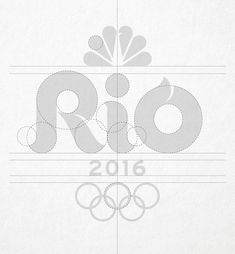 Reviewed: New Logo for NBC Olympics 2016 Broadcast by Trollbäck+Company